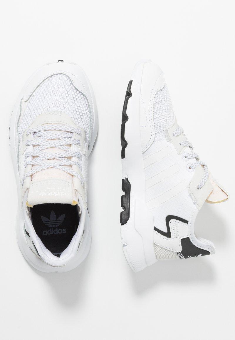 adidas Originals - NITE JOGGER - Tenisky - footwear white/crystal white