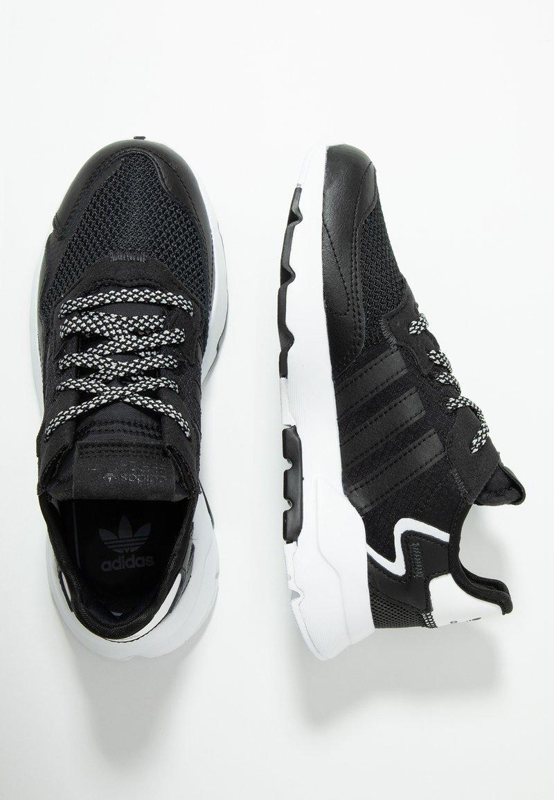 adidas Originals - NITE JOGGER - Trainers - core black/carbon
