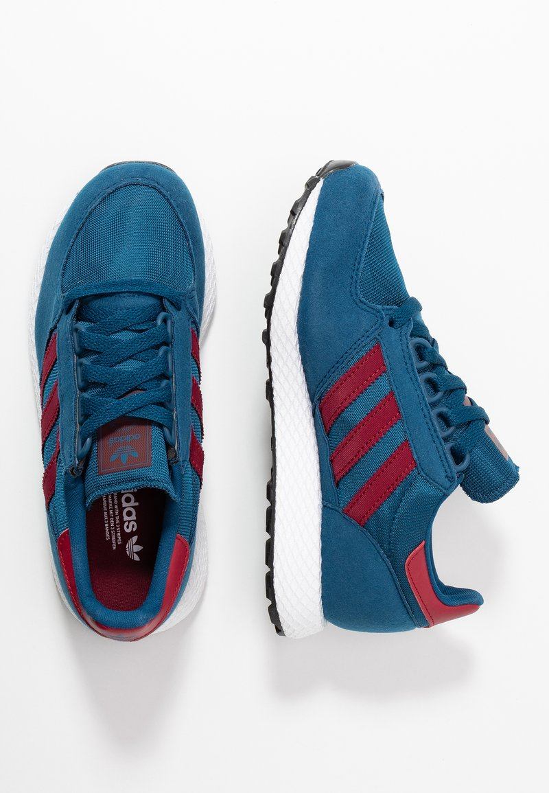 adidas Originals - FOREST GROVE - Sneakers - legend marine/collegiate burgundy