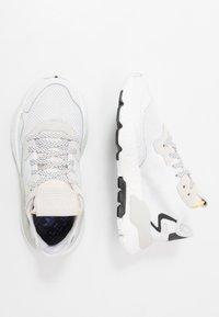adidas Originals - NITE JOGGER - Sneaker low - footwear white/crystal white - 0
