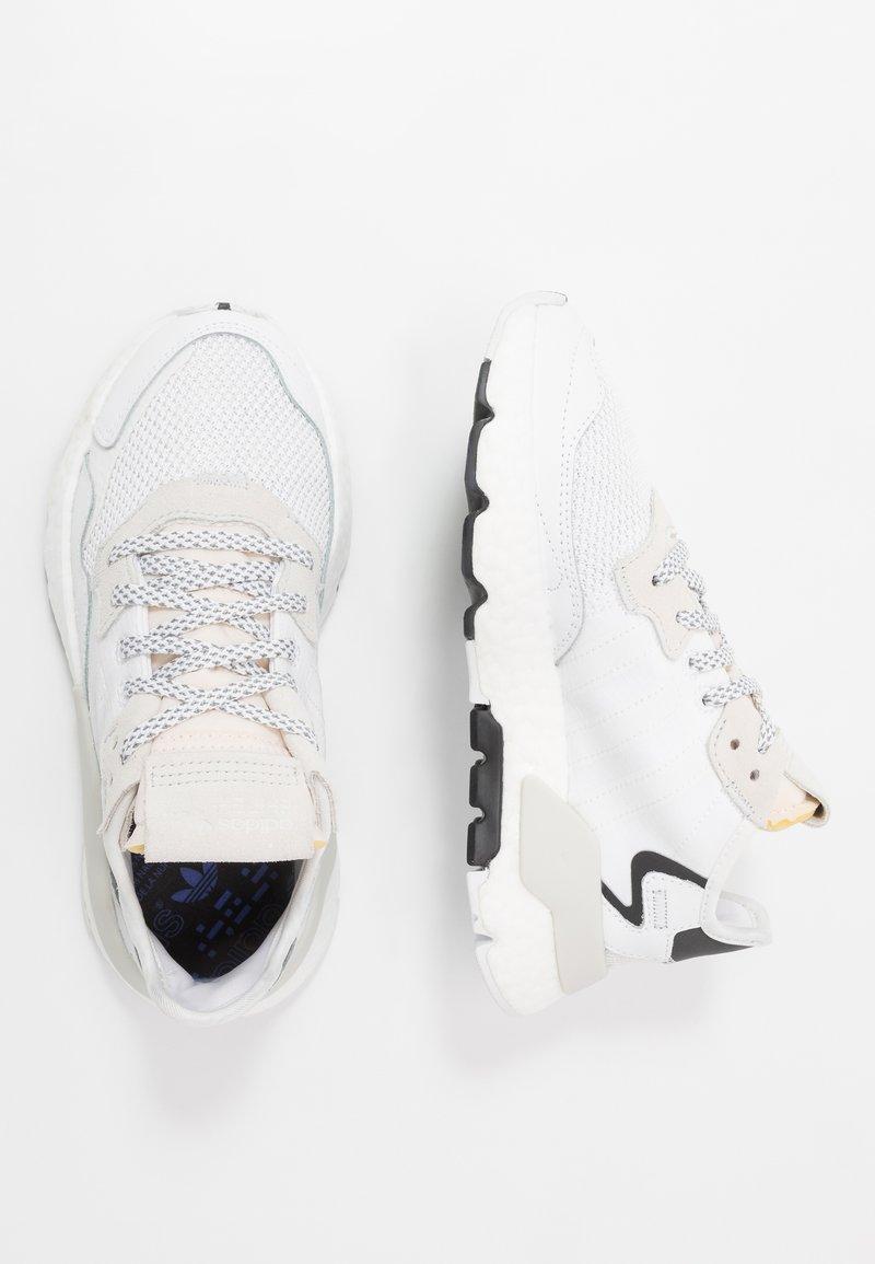 adidas Originals - NITE JOGGER - Sneaker low - footwear white/crystal white