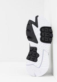 adidas Originals - NITE JOGGER - Trainers - core black/carbon - 5