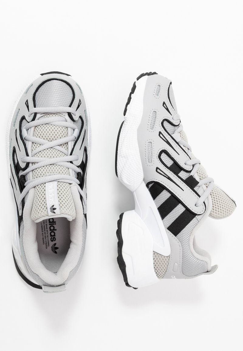adidas Originals - EQT GAZELLE - Baskets basses - grey two/silver metallic/core black