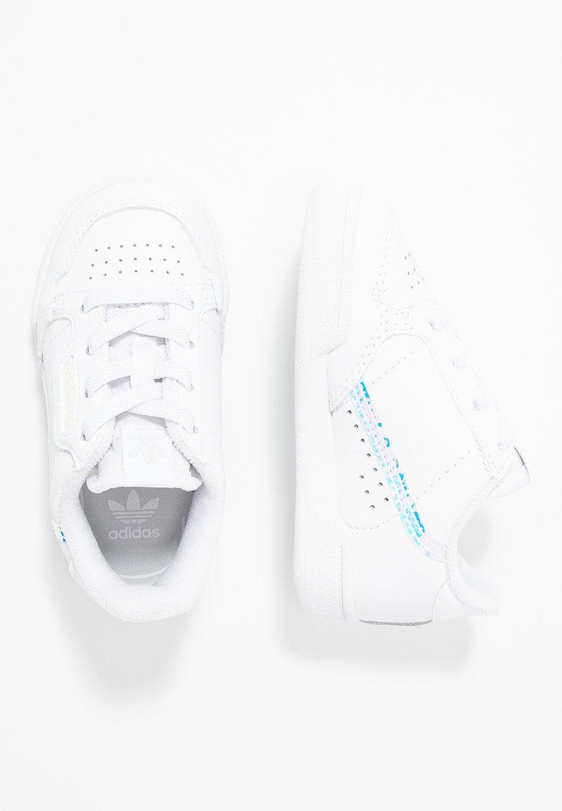 adidas Originals - CONTINENTAL 80 - Matalavartiset tennarit - footwear white/core black