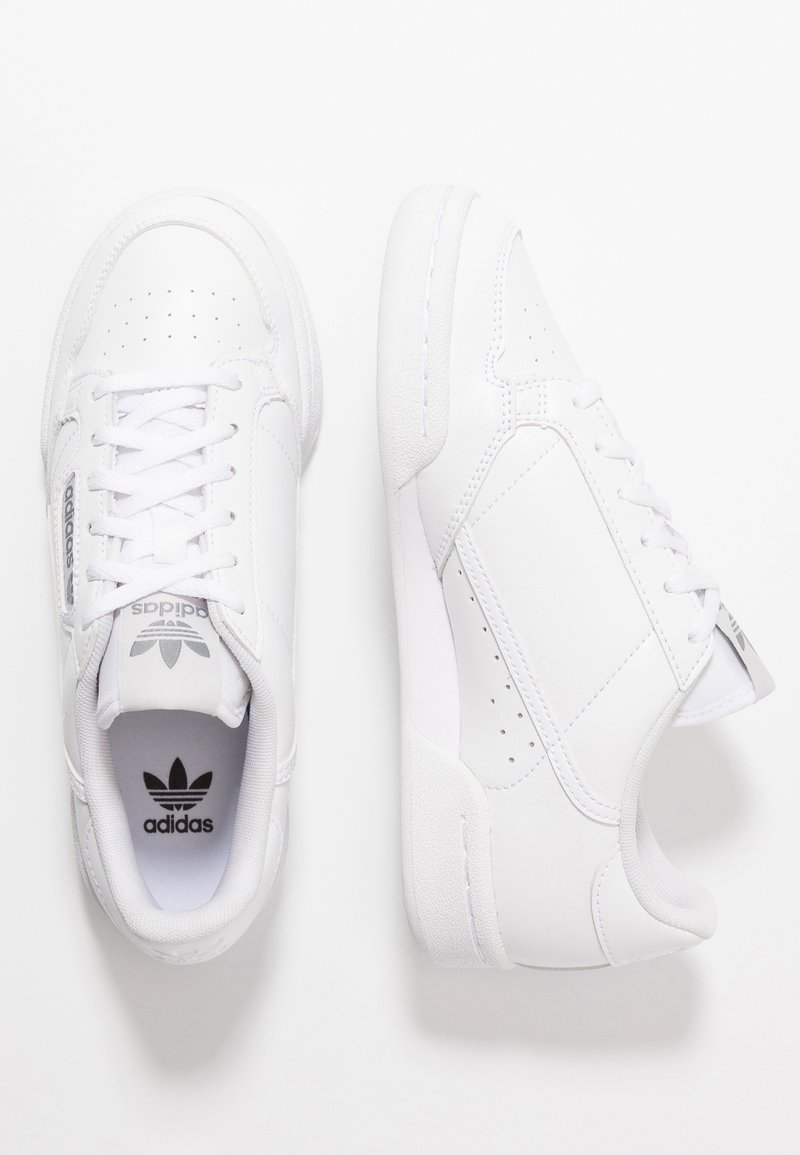 adidas Originals - CONTINENTAL 80 - Sneaker low - footwear white/grey one