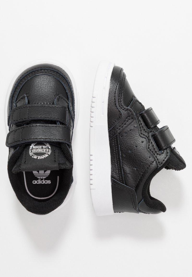 adidas Originals - SUPERCOURT CF - Sneakers laag - core black/footwear white