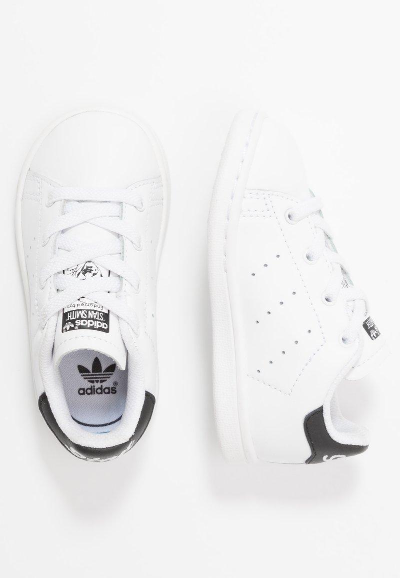 adidas Originals - STAN SMITH - Slip-ins - footwear white/core black