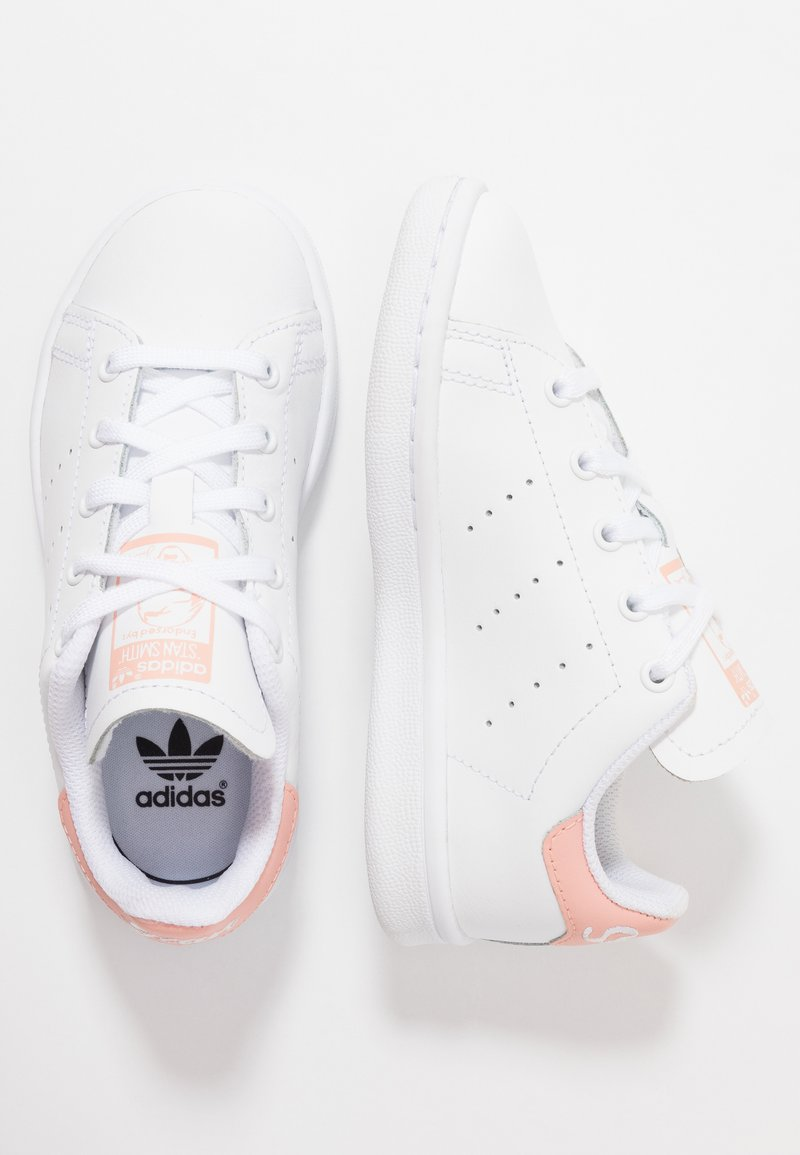 adidas Originals - STAN SMITH - Sneaker low - footwear white/glow pink