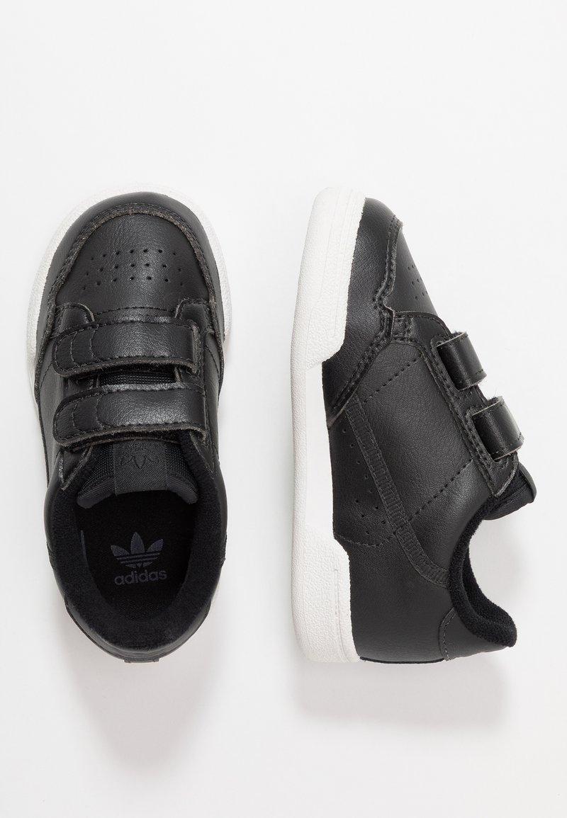 adidas Originals - CONTINENTAL 80 CF - Sneaker low - core black/crystal white