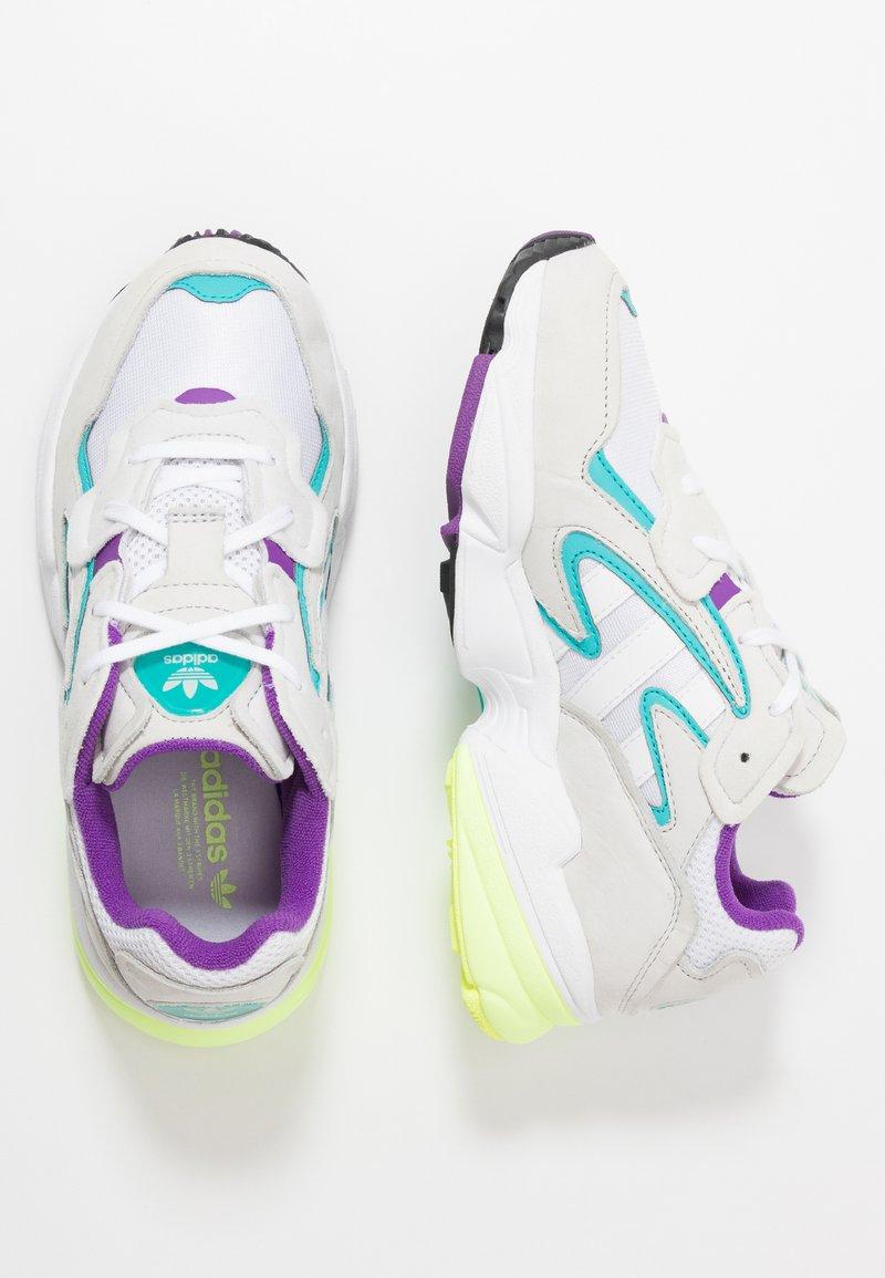 adidas Originals - YUNG-96 CHASM - Baskets basses - footwear white/crystal white