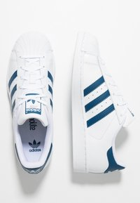 adidas Originals - SUPERSTAR - Sneakers laag - footwear white/legend marine - 0