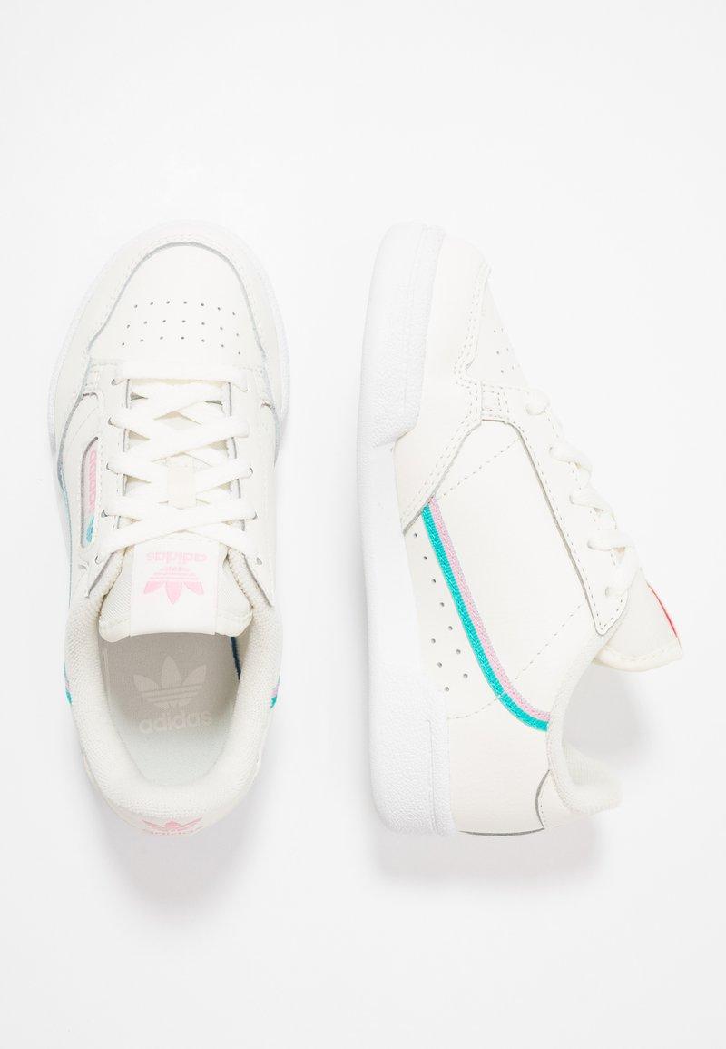 adidas Originals - CONTINENTAL 80 - Sneakers laag - offwhite/true pink/hi res aqua
