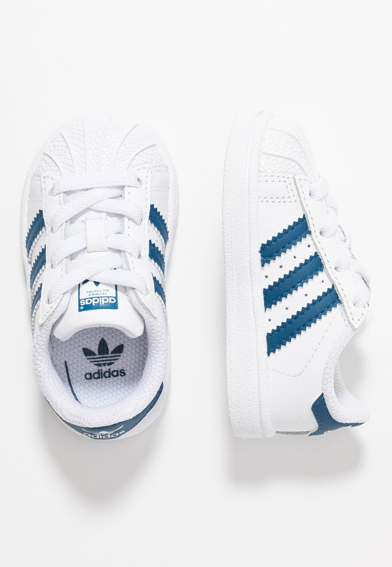 adidas Originals - SUPERSTAR - Sneaker low - footwear white/legend marine