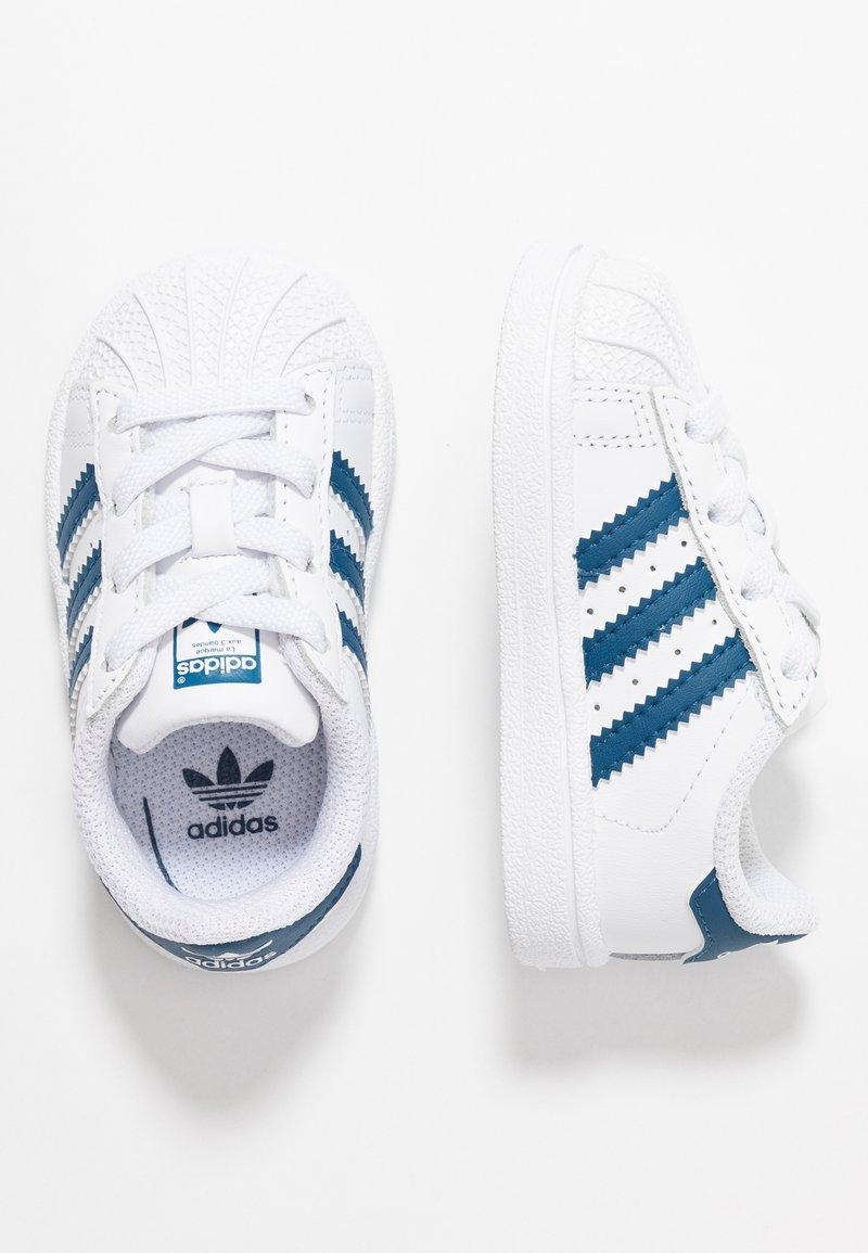 adidas Originals - SUPERSTAR - Trainers - footwear white/legend marine