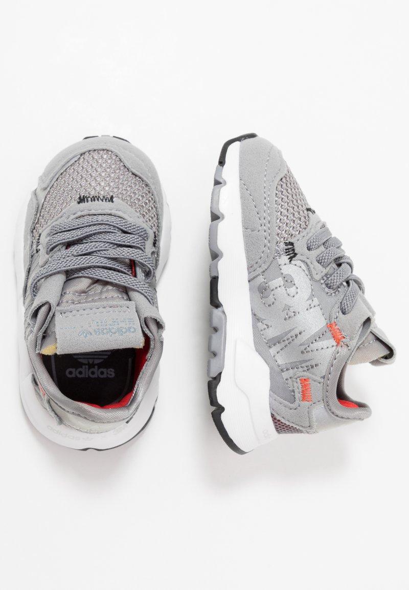 adidas Originals - NITE JOGGER  - Mocassins - grey three/footware white