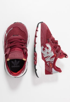 NITE JOGGER  - Slipper - collegiate burgundy/footwear white