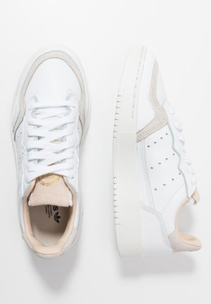 SUPERCOURT - Sneaker low - footwear white/crystal white