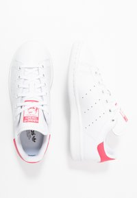 adidas Originals - STAN SMITH - Sneakers basse - footwear white/real pink - 0