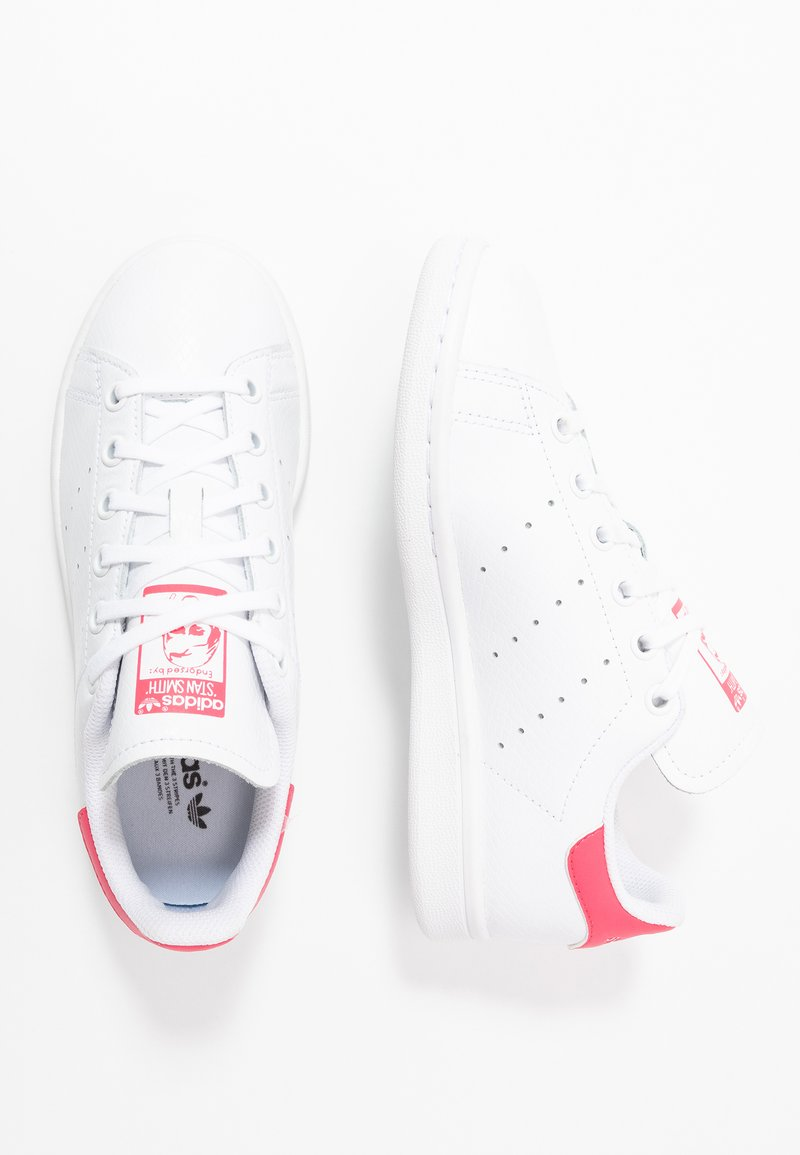 adidas Originals - STAN SMITH - Sneakers basse - footwear white/real pink