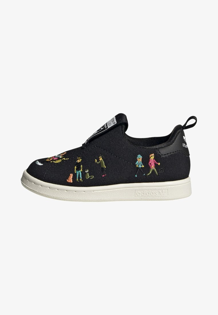 adidas Originals - STAN SMITH 360 SHOES - Slipper - black