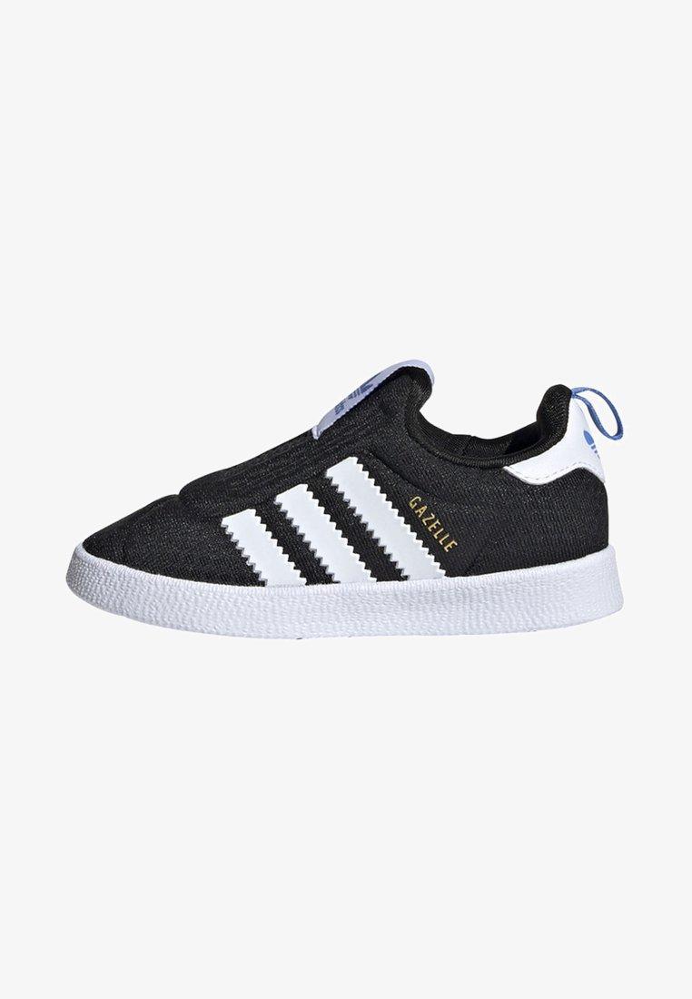 adidas Originals - GAZELLE 360 SHOES - Trainers - black/white