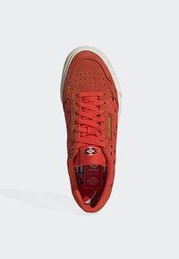adidas Originals - CONTINENTAL VULC SHOES - Matalavartiset tennarit - orange - 2
