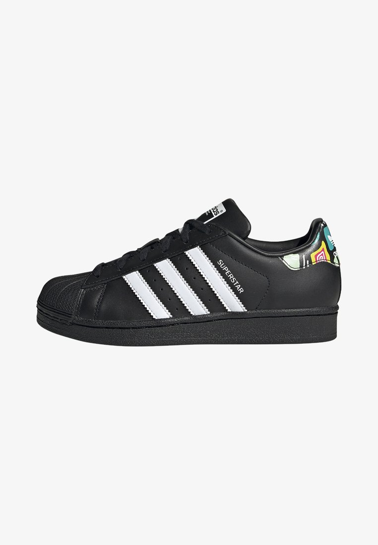 adidas Originals - SUPERSTAR SHOES - Sneaker low - black