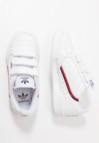 adidas Originals - CONTINENTAL 80  - Zapatillas - footwear white/scarlet - 0