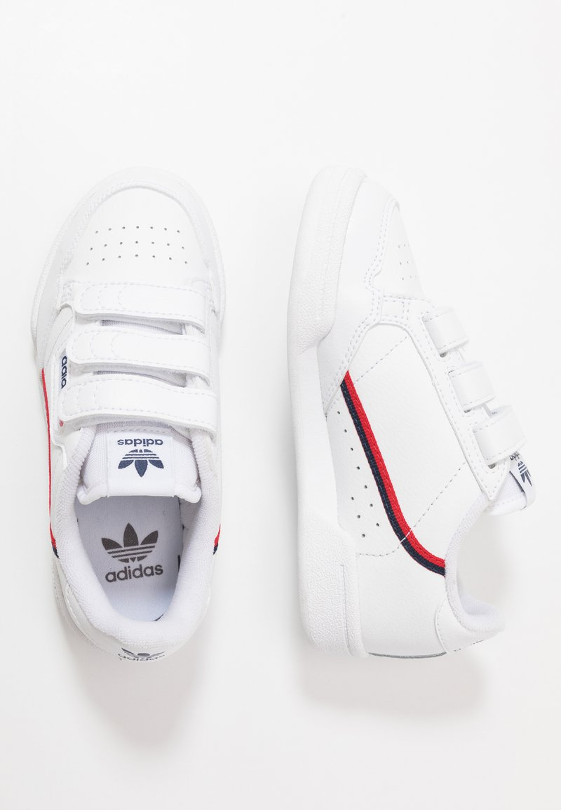 adidas Originals - CONTINENTAL 80  - Zapatillas - footwear white/scarlet