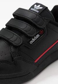 adidas Originals - CONTINENTAL 80  - Sneakers - core black/scarlet - 2