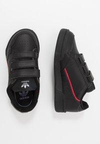 adidas Originals - CONTINENTAL 80  - Sneakers - core black/scarlet - 0