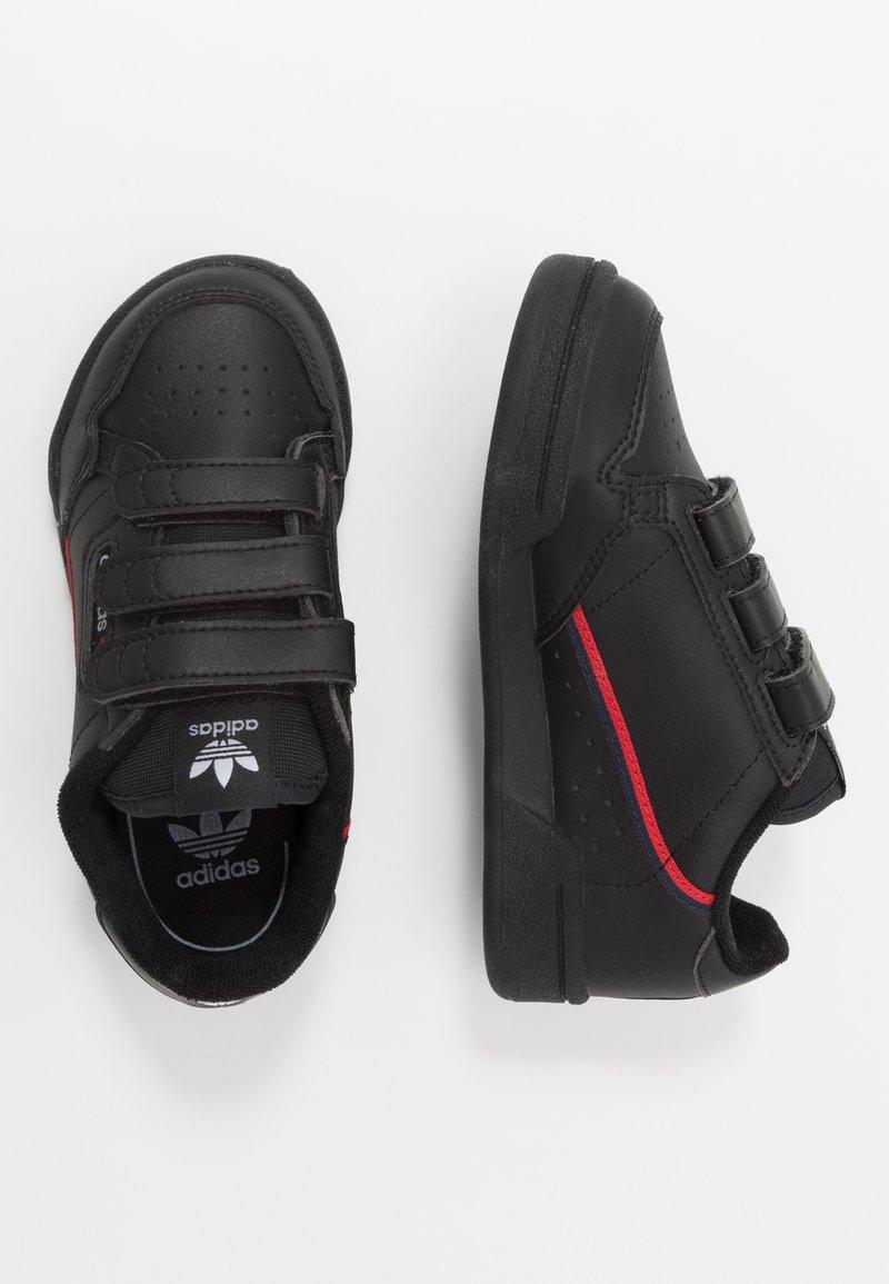 adidas Originals - CONTINENTAL 80  - Sneakers - core black/scarlet