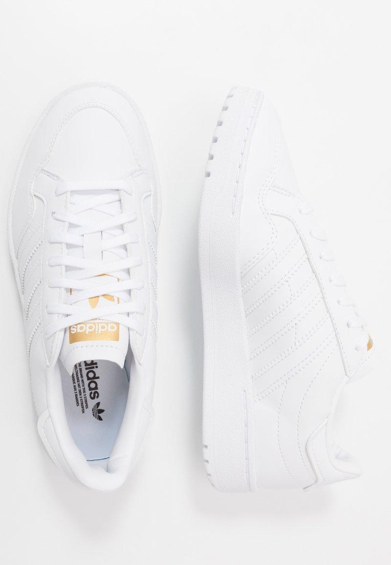 adidas Originals - TEAM COURT  - Sneakers basse - footwear white/core black