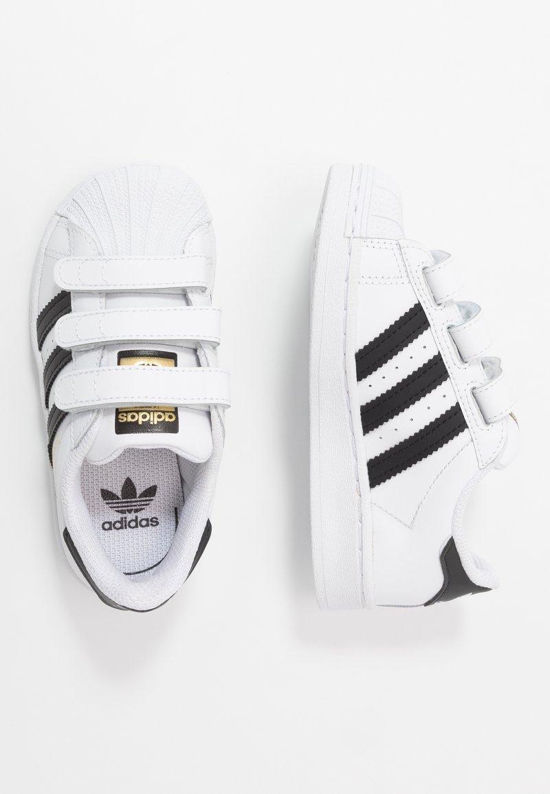adidas Originals - SUPERSTAR - Sneakers laag - footwear white/core black