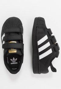 adidas Originals - SUPERSTAR - Sneakers laag - core black/footwear white - 0