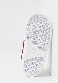 adidas Originals - CONTINENTAL 80  - Sneakers -  footwear white/scarlet - 5