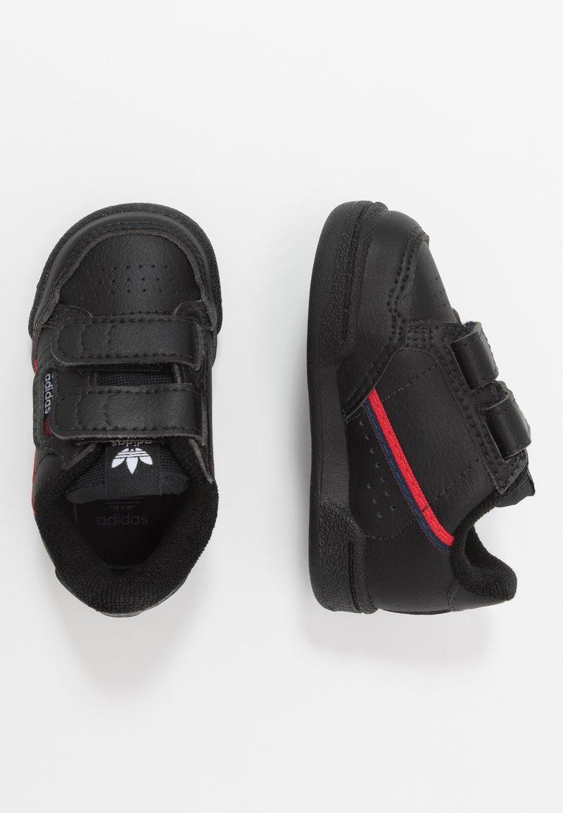 adidas Originals - CONTINENTAL 80  - Zapatillas - core black/scarlet