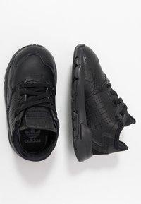 adidas Originals - NITE JOGGER - Instappers - core black - 0