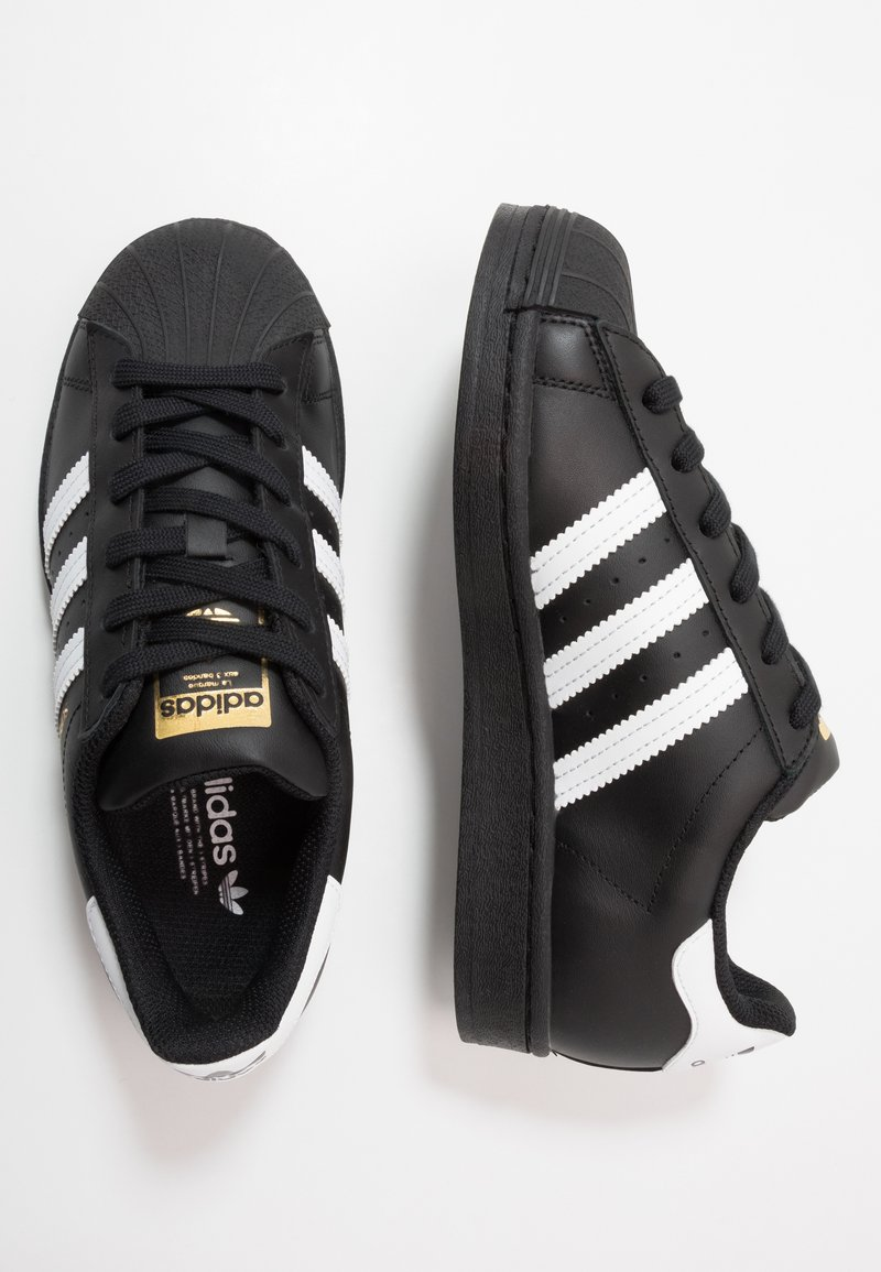 adidas Originals - SUPERSTAR - Zapatillas - core black/footwear wihte