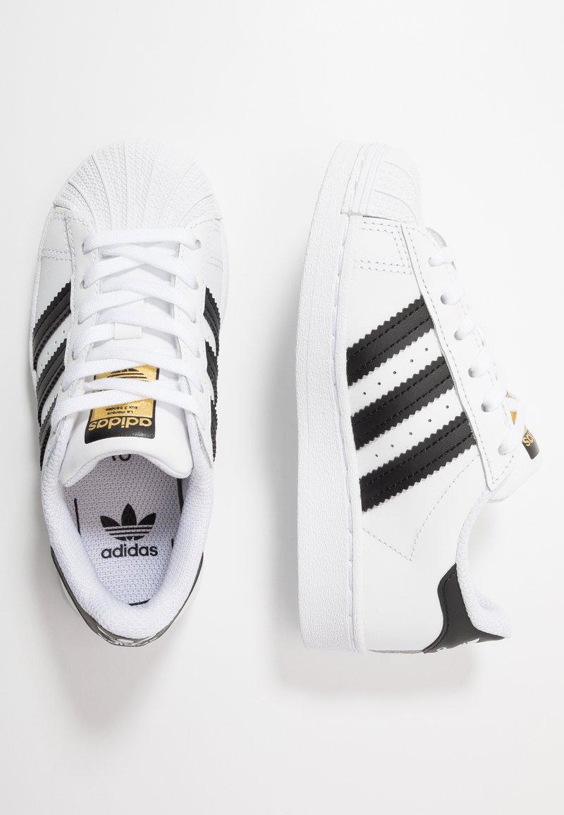adidas Originals - SUPERSTAR - Sneakers basse - footwear white/core black