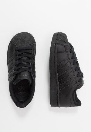 SUPERSTAR - Sneakers basse - core black