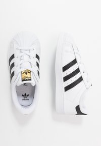 adidas Originals - SUPERSTAR - Instappers - footwear white/core black - 0