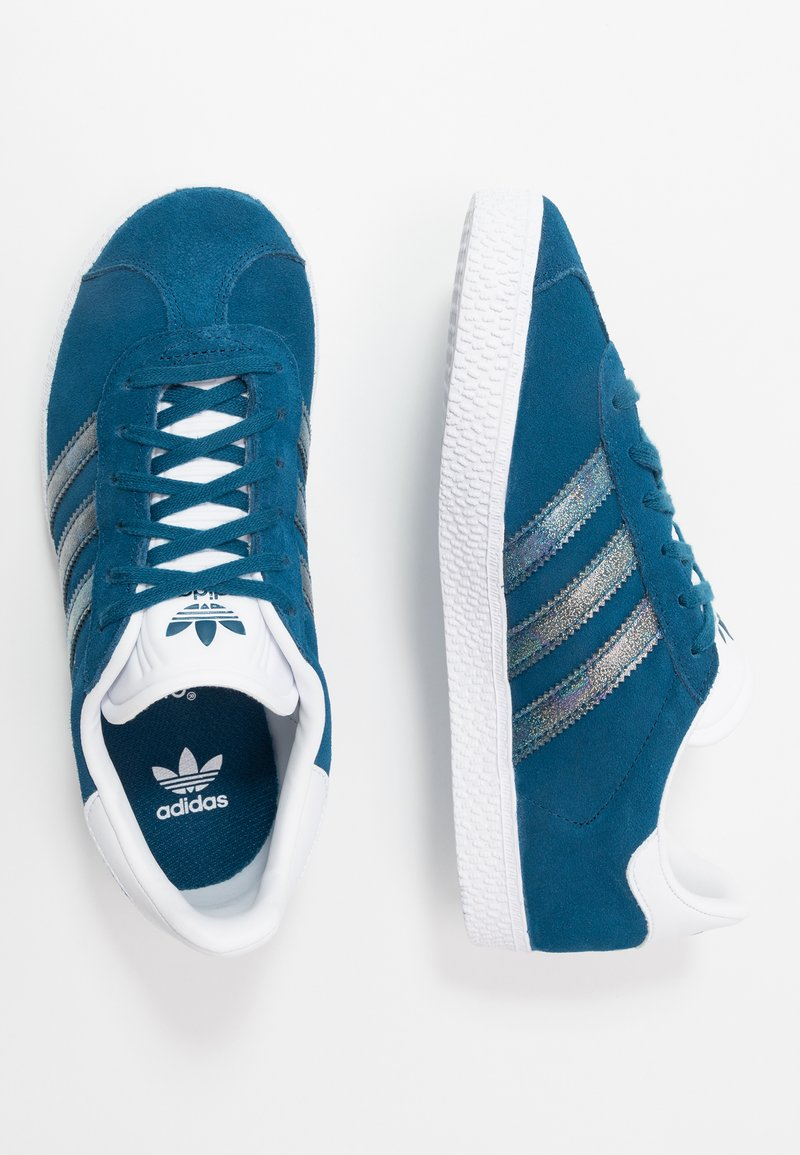 adidas Originals - GAZELLE - Joggesko - legend marine/footwear white