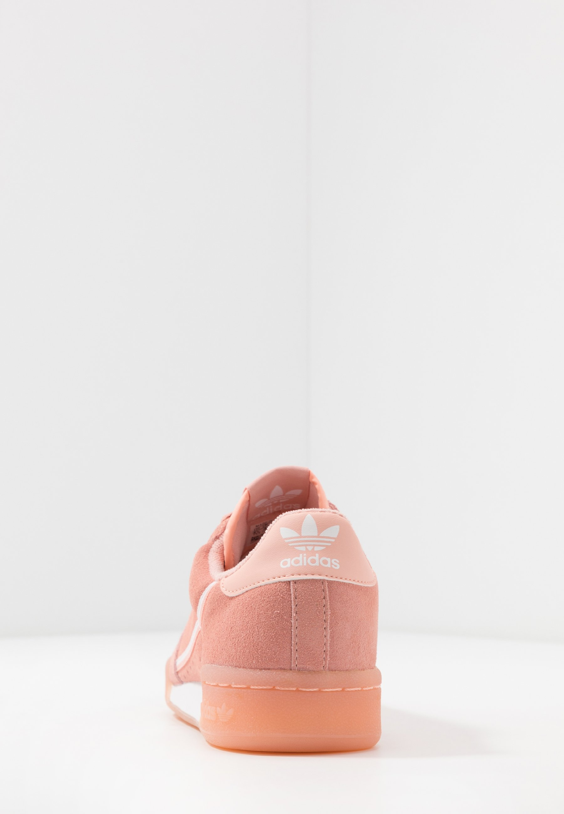 adidas Originals CONTINENTAL 80 - Sneakersy niskie - glow pink/footwear white/core black