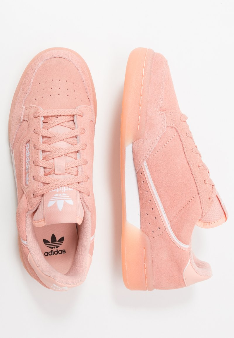 adidas Originals - CONTINENTAL 80  - Baskets basses - glow pink/footwear white/core black