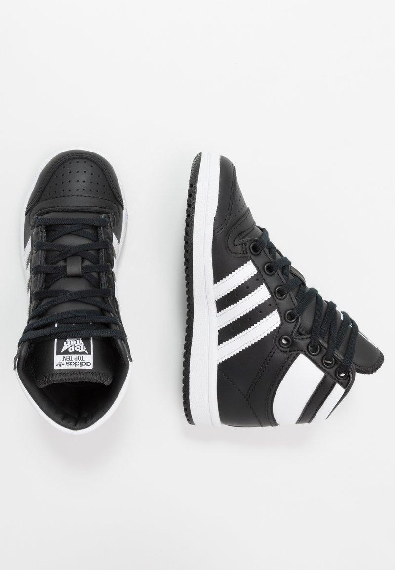 adidas Originals - TOP TEN - Baskets basses - core black/footwear white