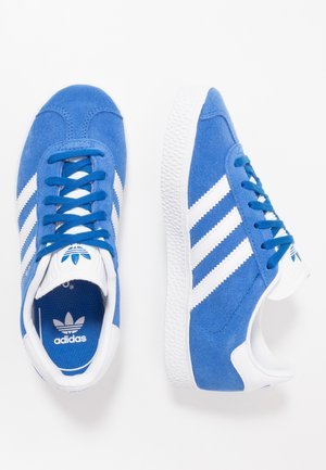 GAZELLE - Zapatillas - blue/footwear white/gold metallic