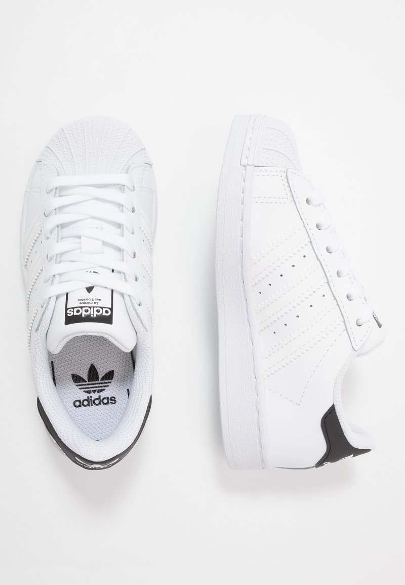 adidas Originals - SUPERSTAR - Sneakers laag - footwear white/core black