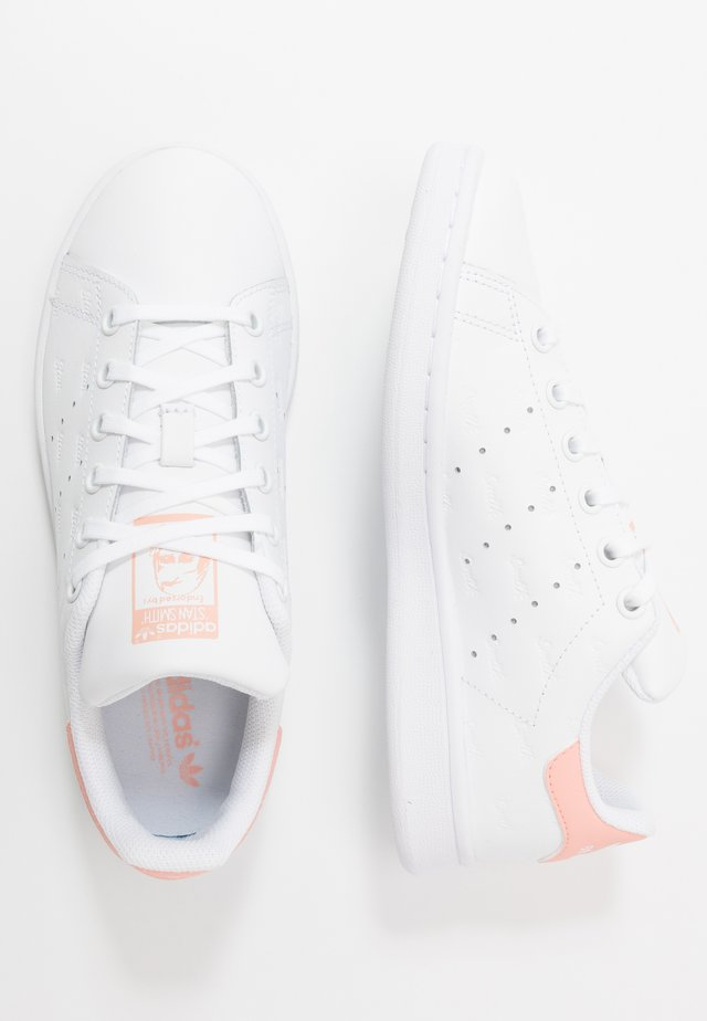 STAN SMITH - Sneakers laag - footwear white/glow pink
