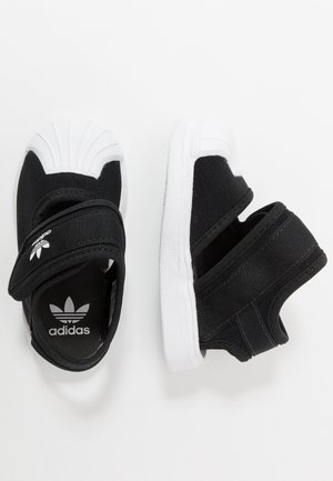 SUPERSTAR 360 - Lær-at-gå-sko - core black/footwear white